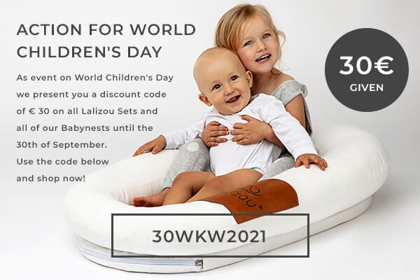 World Children's Week at Lalizou - Save an additional € 30 on your purchase!