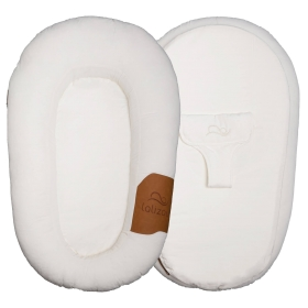 Lalizou babynest Baumwolle White with Patch Baumwolle White with Patch