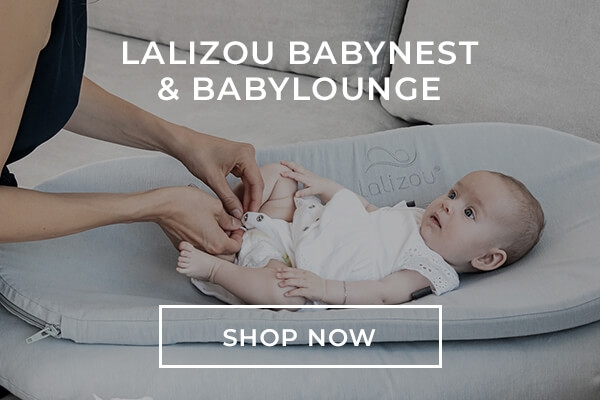 Lalizou Babynest with included Bayblounge